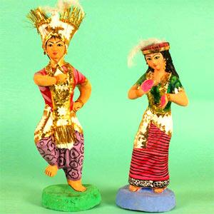 Tribal Dancer Dolls
