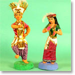 Tribal Dancer Dolls
