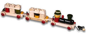 My Train Wooden Pull Try