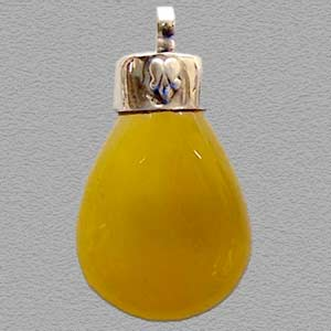 Yellow Gemstone Pendant