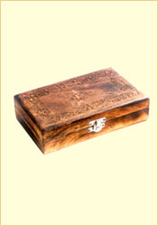 Antique Finish Wooden Box (Wooden Plain 8 x 5 inches)