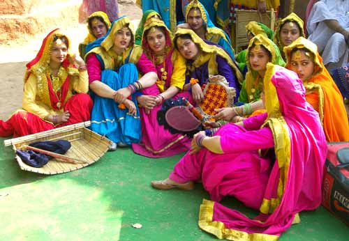 Dancers from Punjab