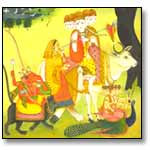 Kangra Painting on Indian Mythology