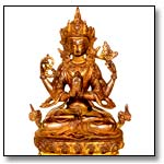 The four-armed avalokiteshvara